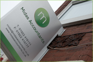 Midas Accountants - providing accountancy and tax services